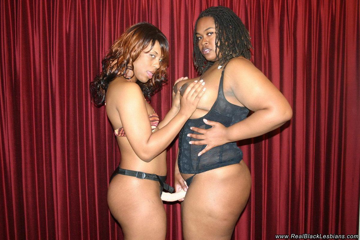 Black Lesbian Stud Strap