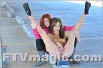 FTV Elle & Malena: Lipstick Lesbians (Feb 2012)