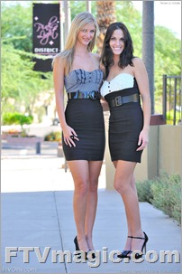 Amazing lesbian scissoring meeting of two posh girls - 1 part 4